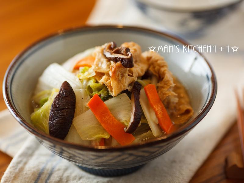 (蔬食) 豆皮炒白菜