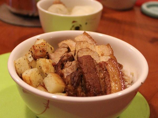 日式梅香五花肉