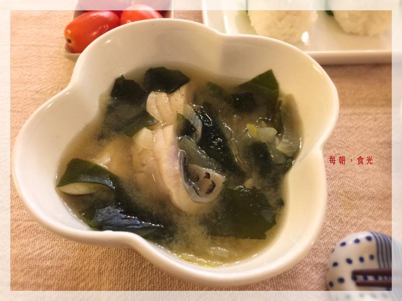 味增魚片湯(露營ok)