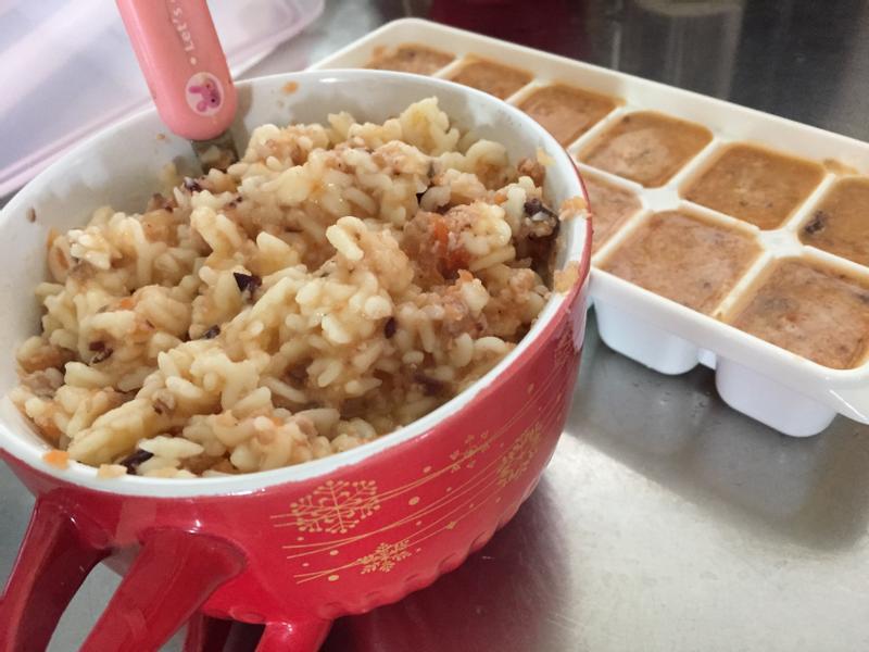番茄肉醬義大利字母麵(嬰兒版)
