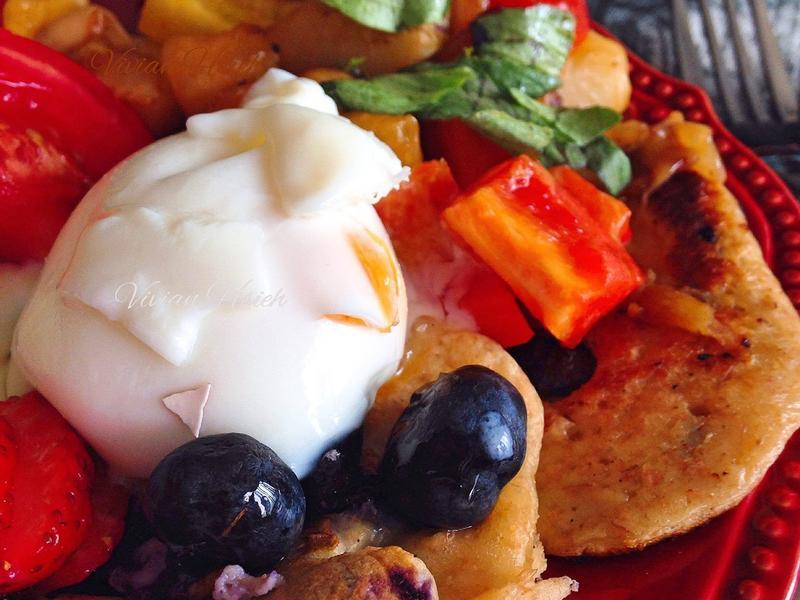 藍莓/鮪魚自製鬆餅 HM Pancake