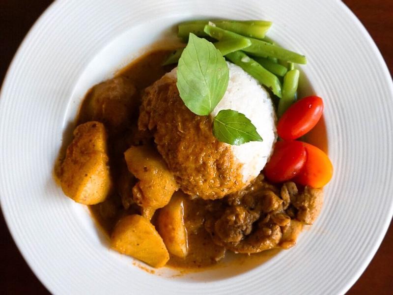 椰香咖哩雞
