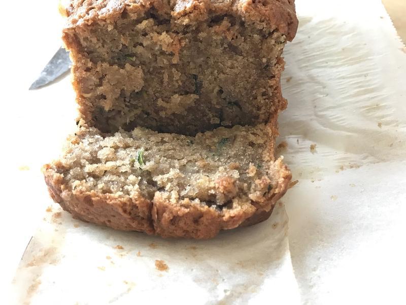 櫛瓜磅蛋糕/Zucchini Bread