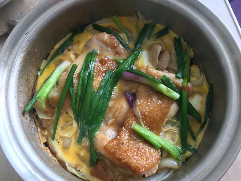 日式滑蛋雞排