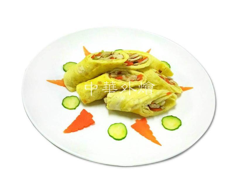 韭黃蛋皮捲【中餐乙級食譜】