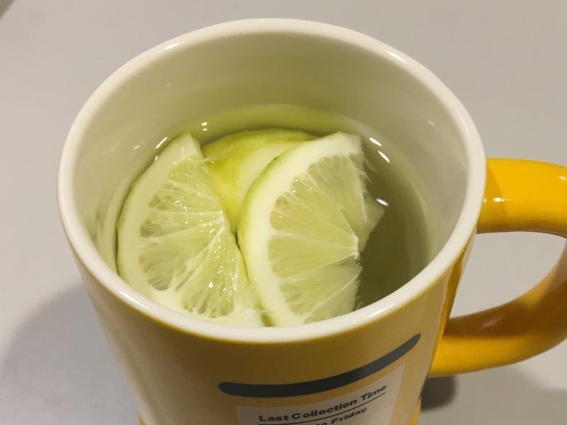 預防感冒の熱檸檬水