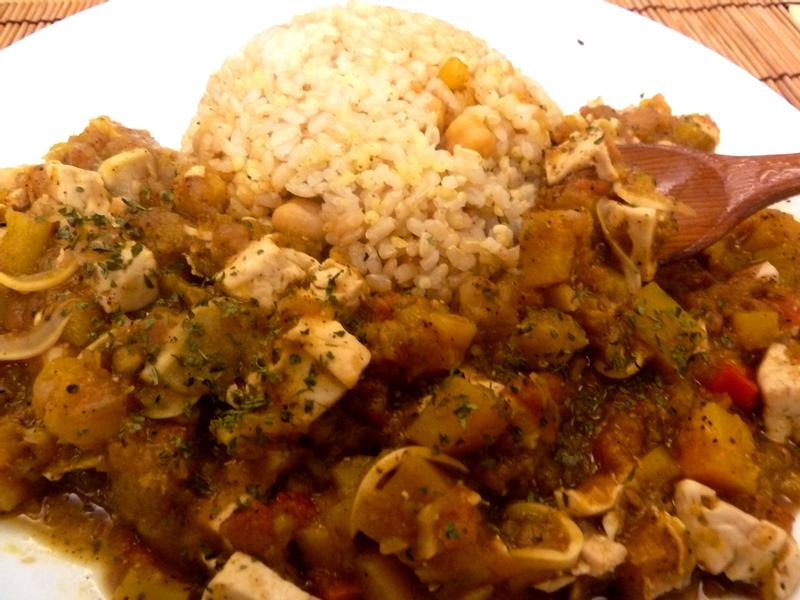 《全素食》Masala咖哩~無油高蛋白