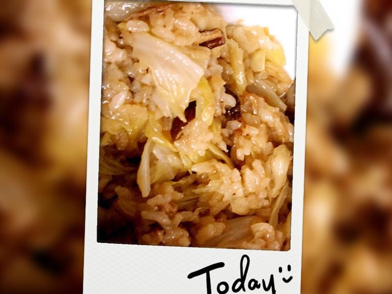 XO醬高麗菜燜飯