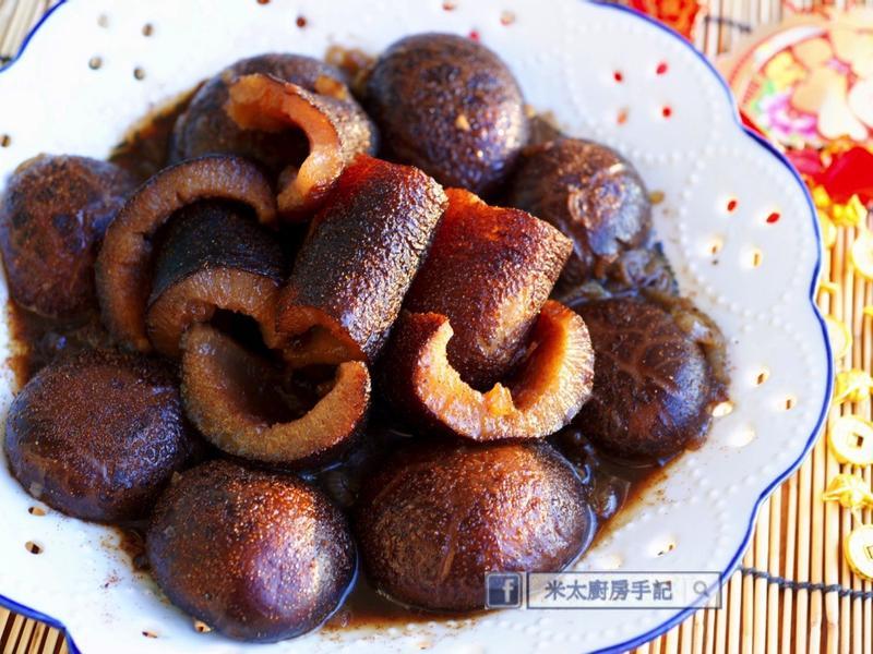 《紅燒蝦子海參香菇》