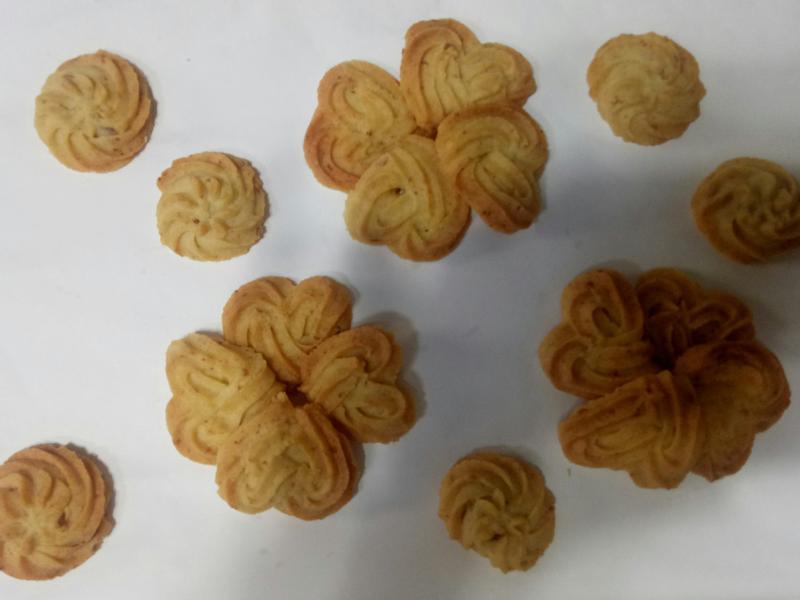 玫瑰起司手工餅乾