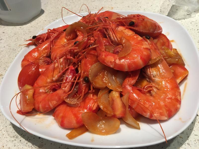 茄汁笑蝦蝦