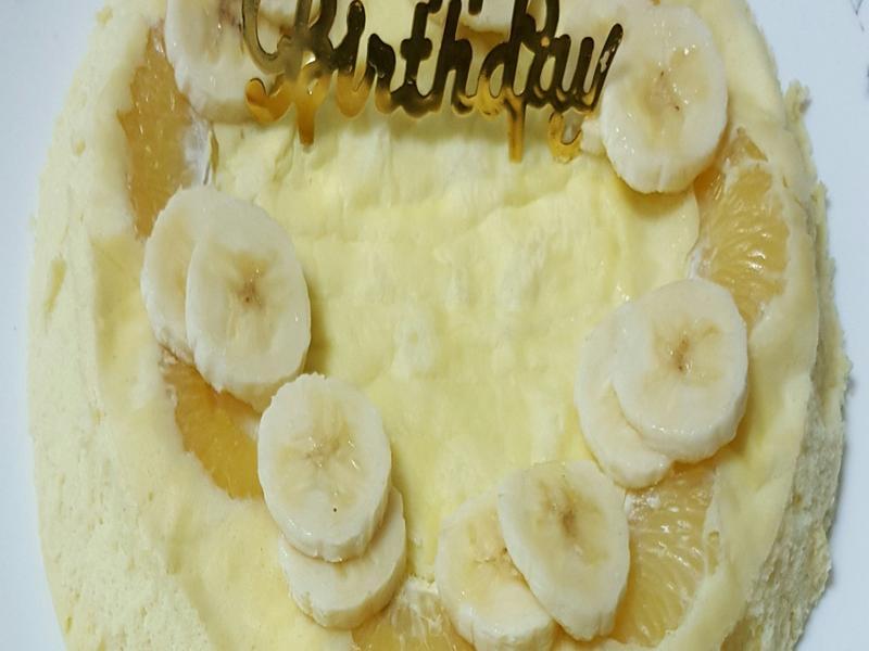 香蕉橘子蛋糕