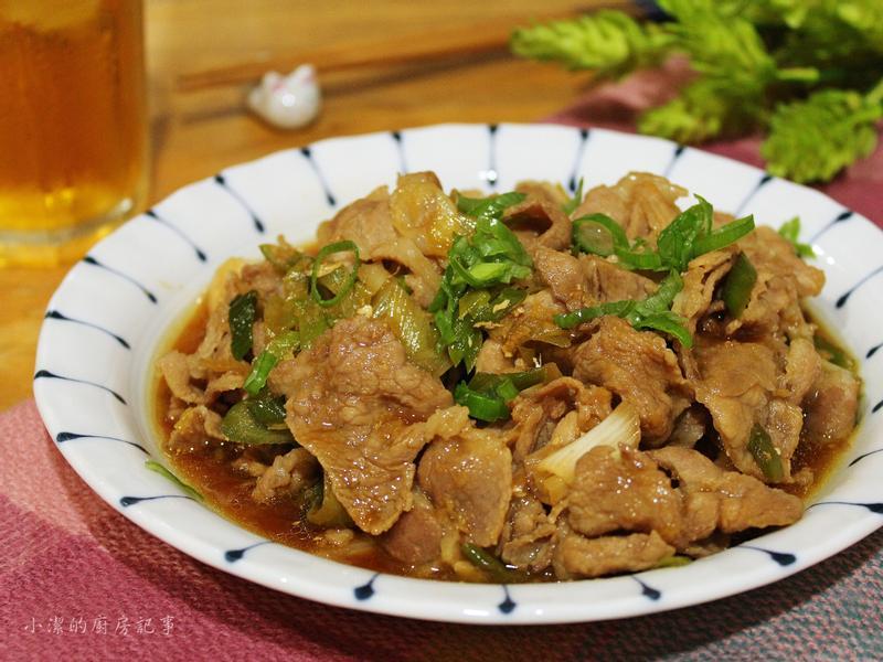 薑汁蒜燒豬肉片