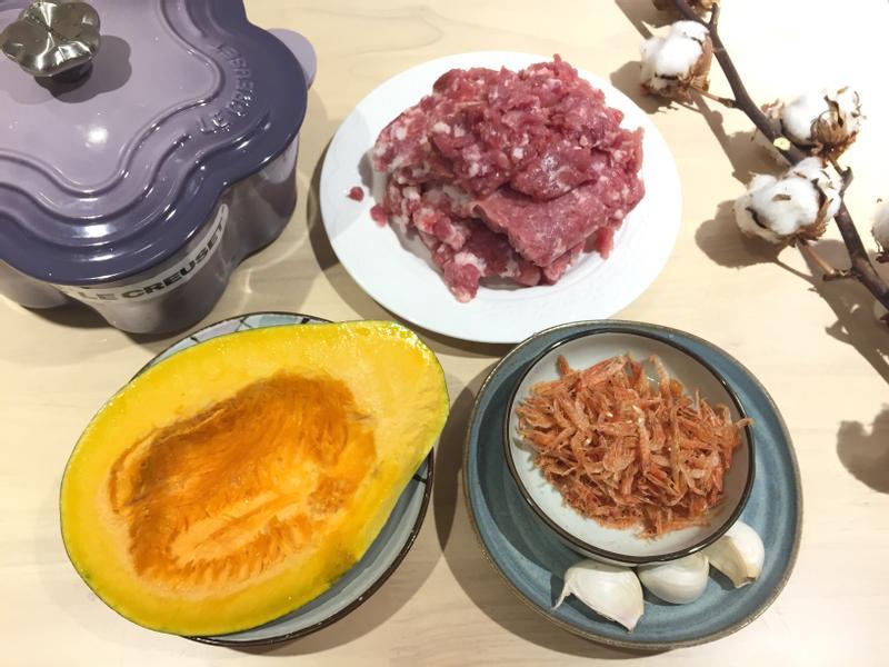 「鑄鐵鍋料理」家常南瓜肉燥🎃