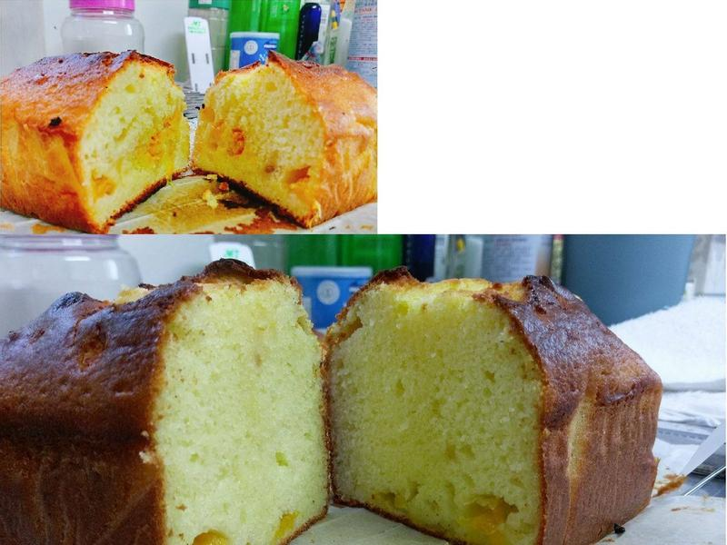 鮮橘蘋果磅蛋糕