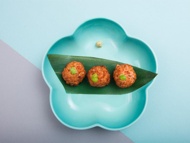 炸蝦豆腐丸(海老真丈)