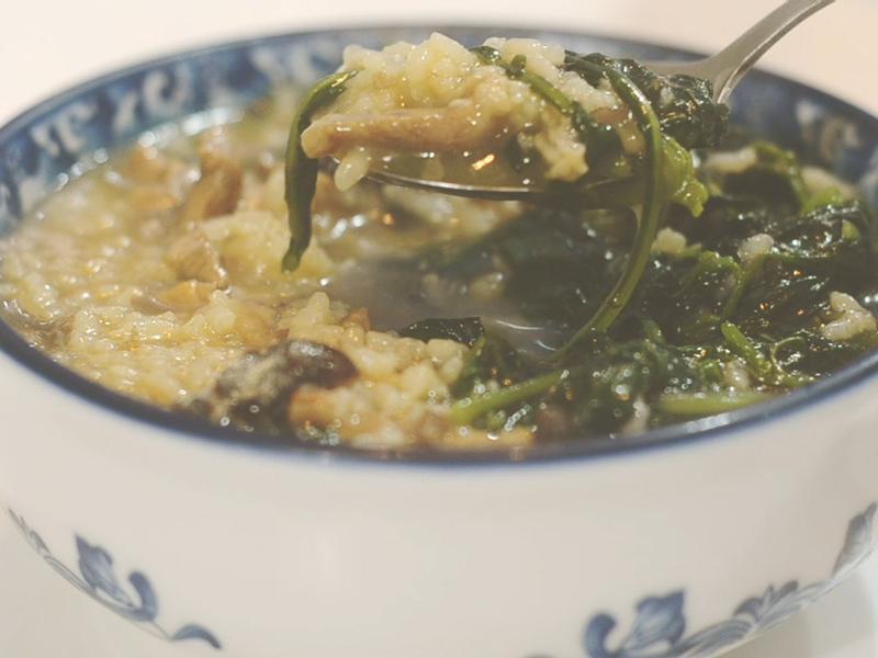 古早好味道 龍葵 (黑甜仔) 台式稀飯