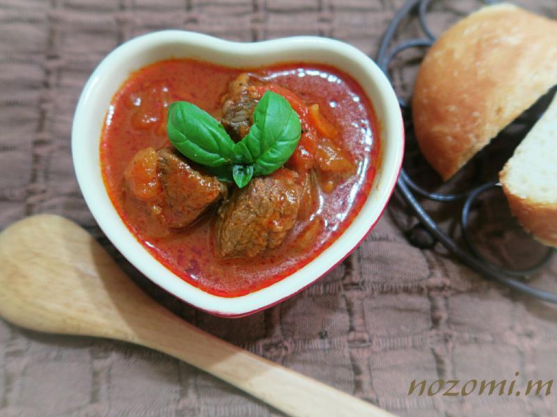 【零失敗電子鍋料理 】奶油番茄燉牛肉