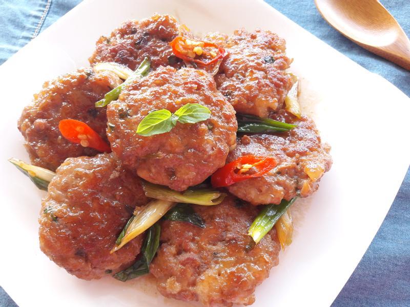 蔥燒香煎肉餅~好下飯【淬釀手路菜】