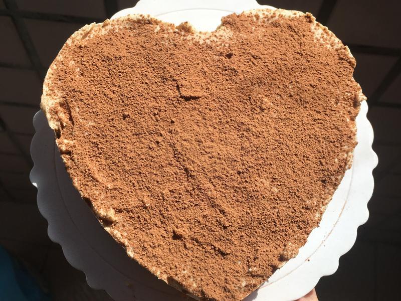 心型金莎乳酪蛋糕[免烤]