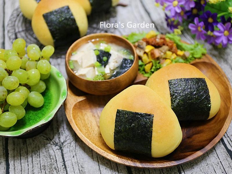 香Q御飯糰造型麵包