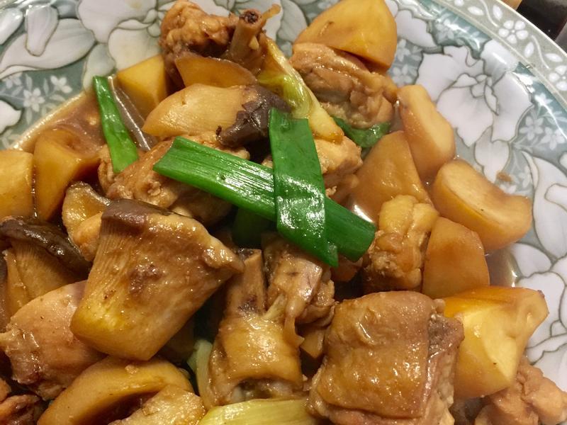 杏鮑菇燒雞肉【淬釀手路菜】