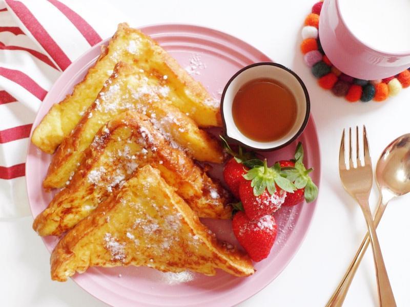 超簡單早午餐🍞草莓季法國吐司