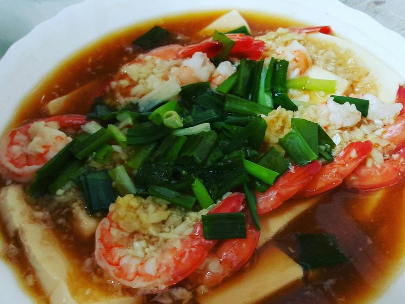 【小英廚房】蒜蓉蒸蝦