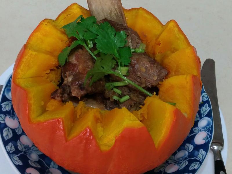 栗子南瓜盅  (淬釀手路菜)