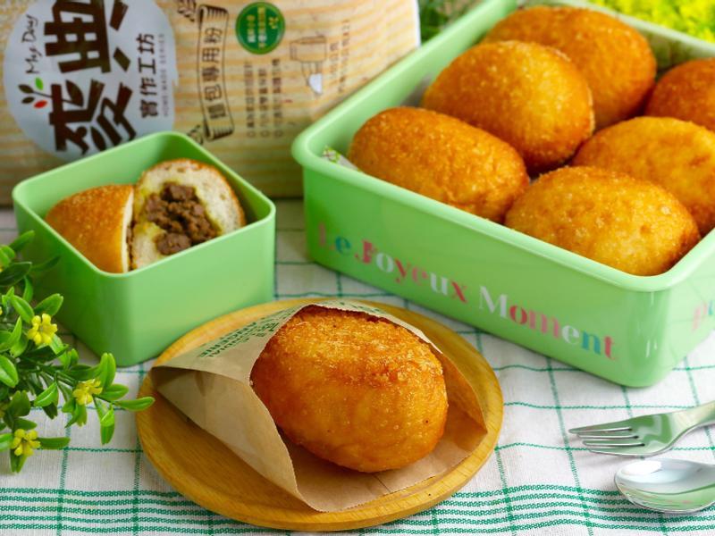 日式咖哩麵包【麥典麵包專用粉】