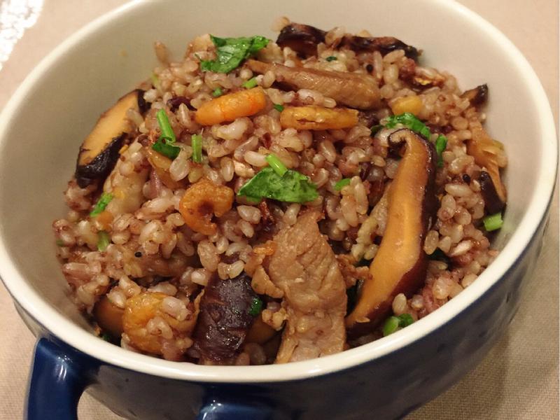 糙米油飯❣
