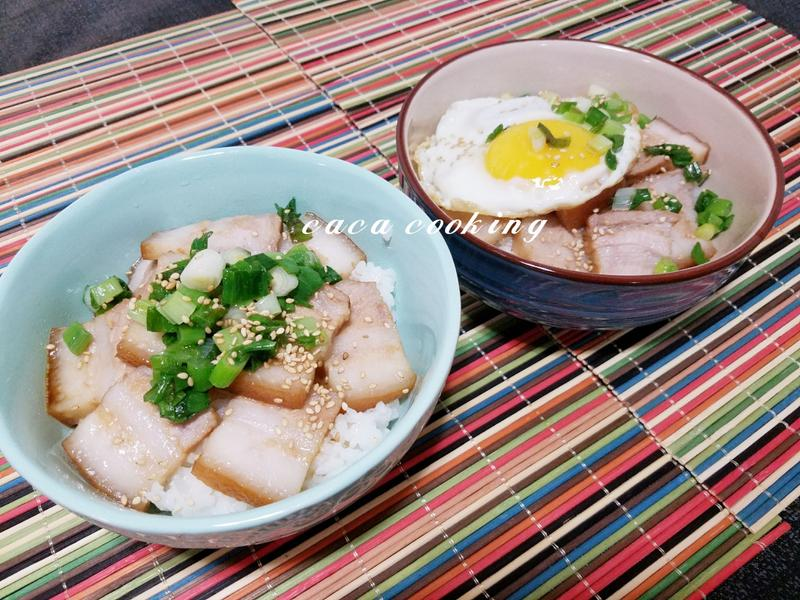 香滷五花肉蓋飯