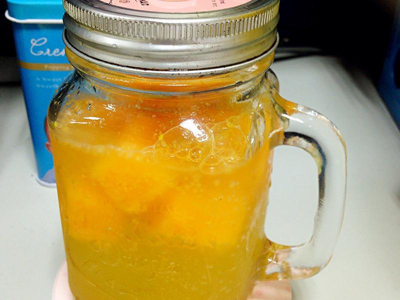 氣泡橘子茶(水果氣泡飲)
