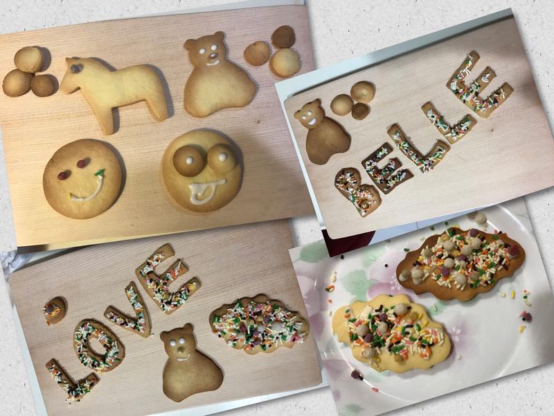 親子手作烘焙~奶油餅乾