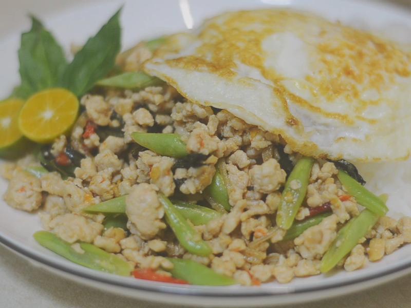 泰式快炒∣香辣鮮 打拋雞肉 太美味了