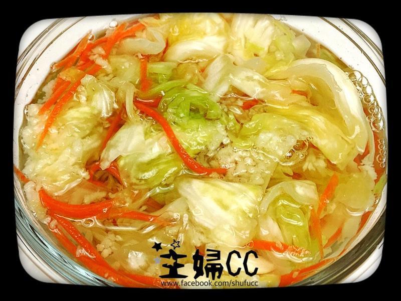 《開胃小菜》台式酸甜泡菜(高麗菜)