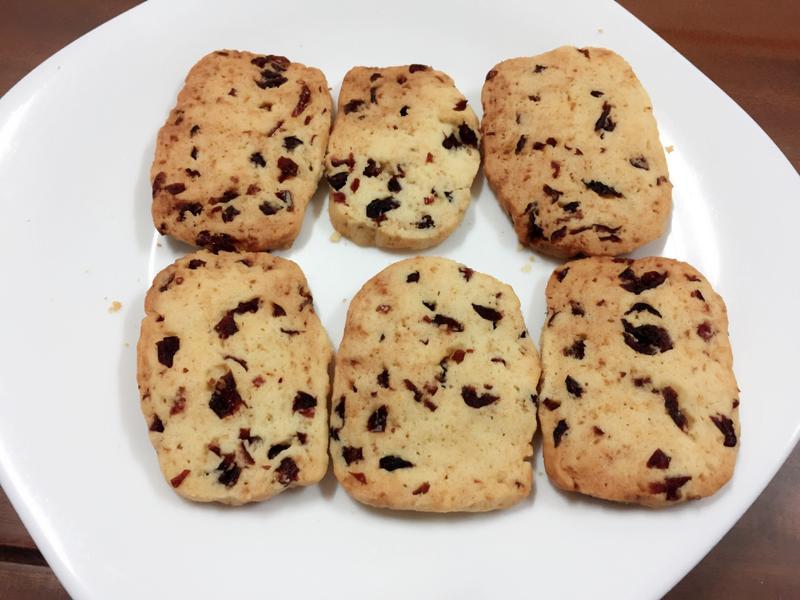 超簡單蔓越梅餅乾(減糖版)