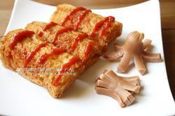 紅香腸酥炸吐司
