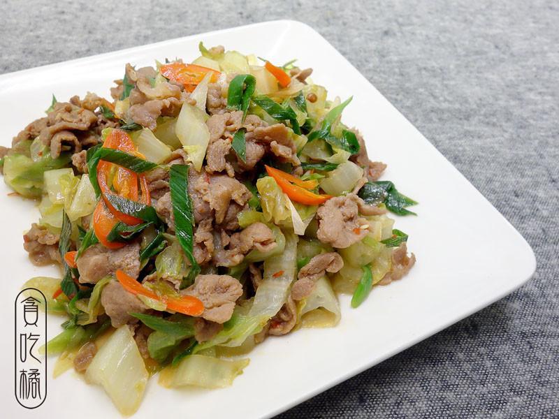 蒜苗生菜炒豬肉 ♥長蒜一族 2