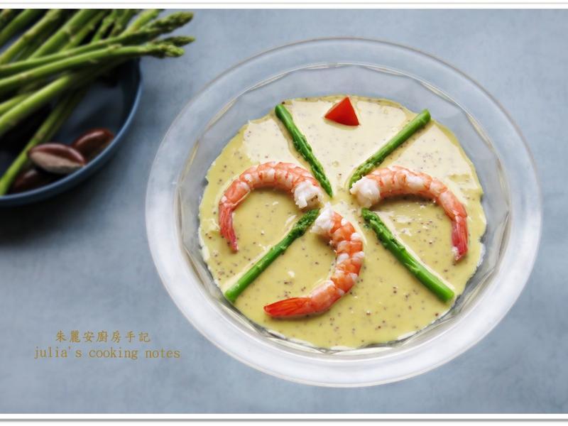 仿西堤鮮蝦蘆筍沙拉醬
