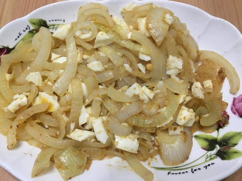 鹹蛋炒洋蔥