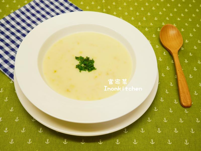 西餐丙級-奶油玉米濃湯