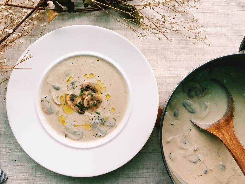 蘑菇控的經典蘑菇濃湯