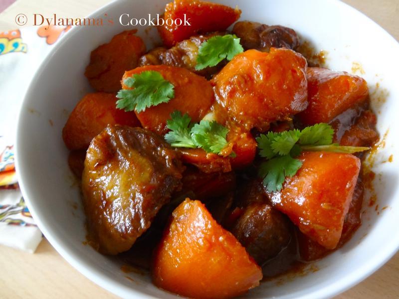 DYLANAMA ♥ 紅蘿蔔燒肉