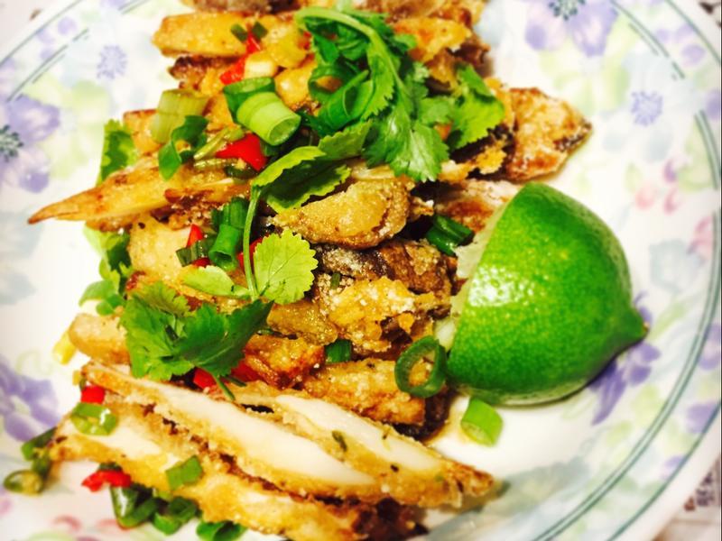 素食泰式椒麻雞