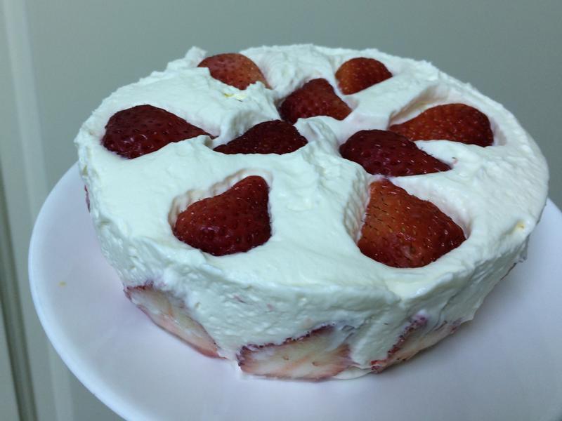 🍰草莓生乳酪蛋糕(免烤免吉利丁)