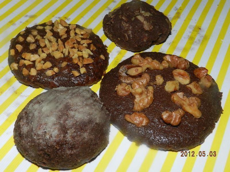 ㄚ曼達的廚房~四款巧克力餅乾
