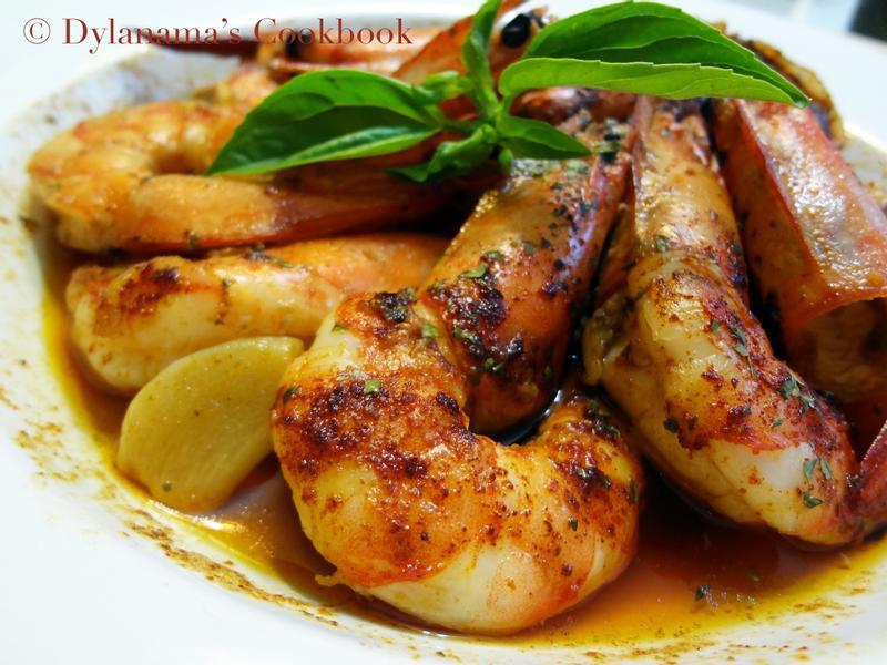 DYLANAMA ♥ 橄欖油大蒜蝦