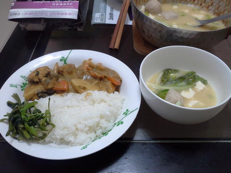 [穀盛綠咖哩]椰奶雞肉食蔬綠咖哩 (2人份)