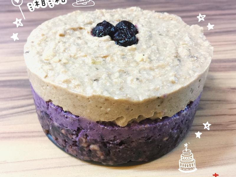 藍莓起司裸食蛋糕/免烘烤/素食